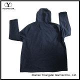 Vestiti incappucciati del rivestimento di Softshell del panno morbido polare blu del Mens Ys-1071 per gli uomini