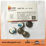 Kleiner runder NdFeB Namensabzeichen-Magnet-Halter