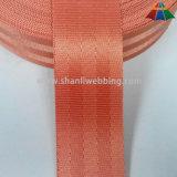 Commercio all'ingrosso tessitura di nylon della cintura di sicurezza di colore rosso arancione di 1.5 pollici