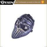 Le jeu squelettique tactique de pleine face de Paintball d'armée protègent le masque sûr