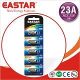 Алкалические блоки батарей 23A 12V 65mAh с ISO9001 Standrad
