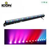 Lavata a distanza della barra di RGB LED del pixel 32X3w per illuminazione della discoteca della fase