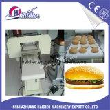 Máquina de corte elétrica do bolo do Slicer do Hamburger com lâminas ajustáveis