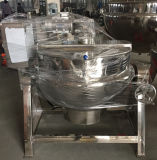 Caldaia elettrica della camicia di riscaldamento per la cottura della spremuta della carne dell'ostruzione