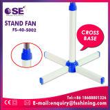 Standplatz-Ventilator der Haushaltsgerät-Kreuz-Unterseiten-16 '' mit niedrigen Kosten