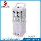 luz solar recargable portable de la emergencia LED de la C.C.