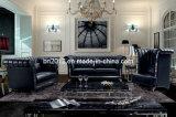 Modernes Möbel-Oberseite-Leder-Sofa (SBO-5932)