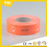 Bande r3fléchissante claire orange prismatique micro du POINT C2 pour des véhicules