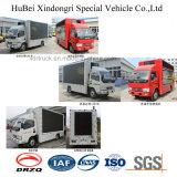 Novo design Dongfeng 9cbm Billboard Vehicle com boa qualidade