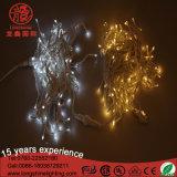 휴일 세륨 RoHS를 위한 옥외 LED 훈장 고드름 또는 커튼 크리스마스 불빛