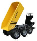 Mini dumper de jardin de camion By600-6 avec six roues