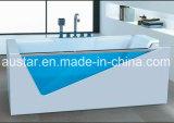 vasca da bagno indipendente di rettangolo di 1700mm con vetro (AT-0716)