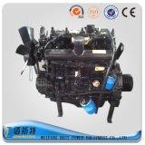 (80HP100HP120HP) moteur diesel refroidi à l'eau avec l'embrayage et la poulie