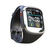 1.54インチのタッチ画面IP65は二重バンドGSM及びWiFi、GPS及びダイナミックな心拍数、ECGの血圧のモニタリング、坐った思い出すことが付いているスマートな腕時計を防水する。 2