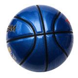 Basket-ball brillant de matériau d'unité centrale de taille officielle de 8 panneaux
