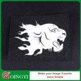 衣類のための暗い熱伝達ペーパーロールのQingyiの普及した白熱