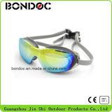 Novos óculos de natação anti-nevoeiro cheios de silicone