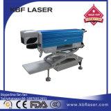 Haute mini machine d'inscription de laser de fibre de la précision 3D pour l'étiquette en métal/acier inoxydable /Plastic