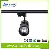 Alto Brillo Ahorro de Energía 15W / 25W / 30W / 35W COB LED Track Light