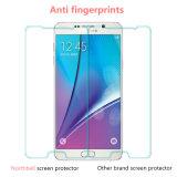 Protetor de tela de vidro temperado de dureza de 9h para Samsung Note 4
