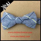 Laços de curva perfeitos do algodão da venda por atacado do nó para homens