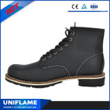Ровные кожаный ботинки безопасности/ботинки с аттестацией Ufc013 ASTM