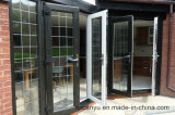 Francés doble del marco Doors/UPVC de la alta calidad UPVC