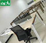Form-Edelstahl-Möbel-Rahmen mit Metallbüro-Schreibtisch