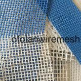 Correa sintetizada blanca azul de la pantalla de acoplamiento del secador del cuadrado del poliester del animal doméstico