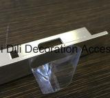 Les accessoires matériels de plancher de décoration serrent le bord rond quart de cornière de passage de tuile