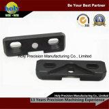 Peças de reposição CNC de uso da câmera Peças de alumínio CNC Anozied preto