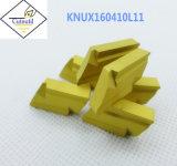 Cutoutil Knux160405L11 pour l'acier &#160 ; Garnitures intérieures de carbure