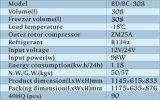 308L Diepvriezer van de Ijskast van de Compressor van 12V/24V de Grote Zonne
