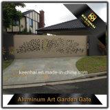 Het glijden het Ontwerp van de Hoofdingang van de Tuin van het Aluminium