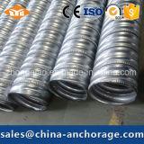 Diversos diámetros de los conductos del metal para las construcciones de la tensión del poste