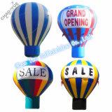 Kundenspezifischer aufblasbarer bekanntmachender Bodenballon mit Cer-Gebläse