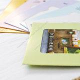 Álbum de foto de la impresión del papel de arte de DIY