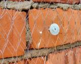 Compensation de fil hexagonale pour le matériau de construction de frontière de sécurité