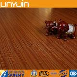 Azulejo auto-adhesivo del vinilo del PVC de la textura de madera plástica incombustible
