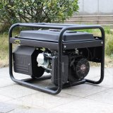 バイソン(中国) BS3500m 2.8kw 2.8kVAの世帯の実際の出力電力大きい燃料タンクの無声健全な証拠の発電機