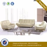 Sofa moderne de bureau de divan de cuir véritable de meubles de bureau (HX-SN049)