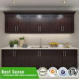 Самомоднейший роскошный кухонный шкаф кухни твердой древесины
