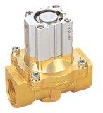 Válvula de controle direcional 2q160-15 do ar do metal amarelo do volume de água