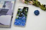 유성우 Samsung를 위한 액체 Bling 전화 상자 불꽃 반짝임 케이스