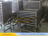 Esterilizador autoclave de pequeña escala Dn800X1000