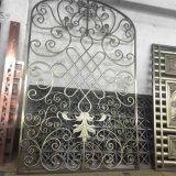 Dekoratives Edelstahl-Metall rastert Vorhang-Bildschirm