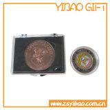 Kundenspezifische Firmenzeichen-Antike-Messingplatten-Münze (YB-HD-94)