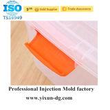 Caja moldeada de pernos de cartón con mango de plástico