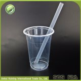 Hitzebeständige Wegwerfplastiksaft-MilchshakeSmoothie Boba Cup mit Kappen und Stroh