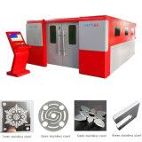 Фабрика сразу поставляет резец лазера металлического листа волокна CNC 1000W